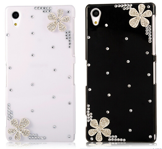 Rhinestone Case Cover For iPhone 8 7 6 6S Plus 5S X Samsung Galaxy S9 S8 S7 S6 Edge Plus S5 S4 mini Note 8 5 For Huawei Sony HTC