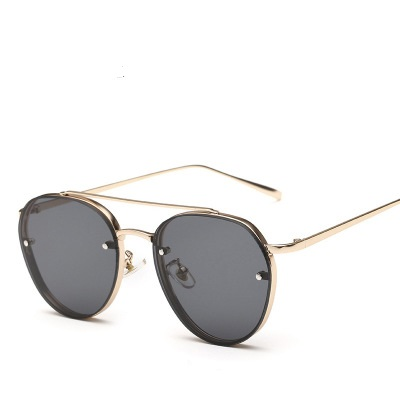 COOLSIR New Clear Lens Round Women Fashion Sunglasses Men Vintage Brand Designer Double Beam Sun Glasses Ladies Female 2019 in Women 39 s Sunglasses from Apparel Accessories