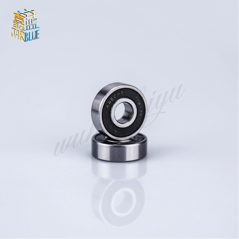 Free Shipping 10pcs 6*19*6mm  626-2RS Black Double Rubber Sealing Cover Deep Groove Ball Bearings 626 2RS 626RS ABEC-5