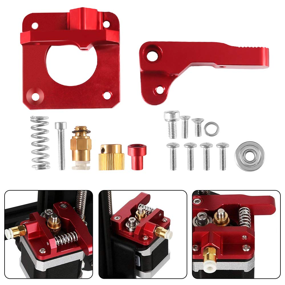 Ender 3 CR-10 Extruder Upgraded Replacement Aluminum MK8 Drive Feed 3D Printer Parts Extruders for Creality 3D CR-7 CR-8 CR-10Ender 3 CR-10 Extruder Upgraded Replacement Aluminum MK8 Drive Feed 3D Printer Parts Extruders for Creality 3D CR-7 CR-8 CR-10