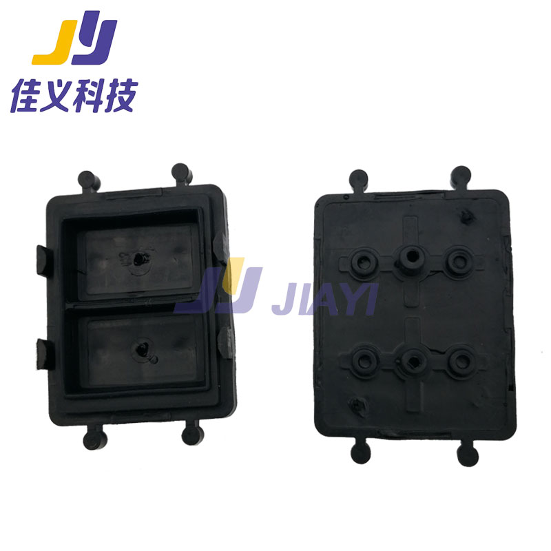 Double Hole Ink Pad A Starjet DX7 Printhead Ink Captop For Termine Photo Machine High Quality