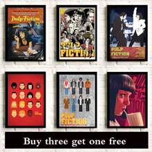 Poster Quentin Tarantino Umatherman Classic Movie Decoration Bedroom Painting Wall Stickers