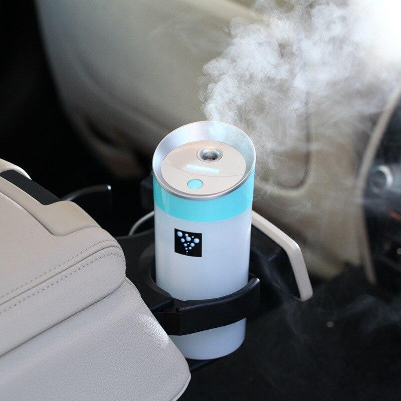 Ätherisches Öl diffuse Auto Aroma Diffusor 300 ML USB 5 V 2 Watt 4 Farben Ultraschall Nebel Machen Öl Diffusor Aromatherapie für Auto luftreiniger