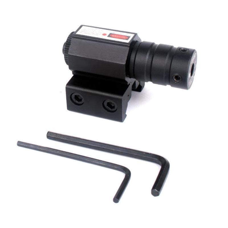Red Dot Laser Sight 50-100M Range 635-655nm Pistol Adjustable 11mm 20mm Picatinny Rail Hunting Accessories Drop Shipping