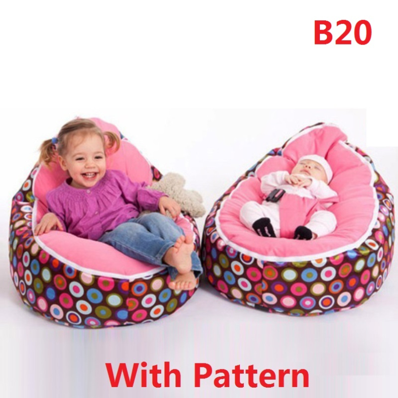 Amazing 2018 New Multicolors Baby Beanbag Pouf Portable Baby Chair Folding Mama  Sandalyesi Harness Safety Belt Filler Do Not Included In Baby Seats U0026 Sofa  From ...