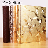 PU Leather Coining Cover Photo Album 700 Piece Insertable 5 6 7 Inch Photos Lovers Birthday