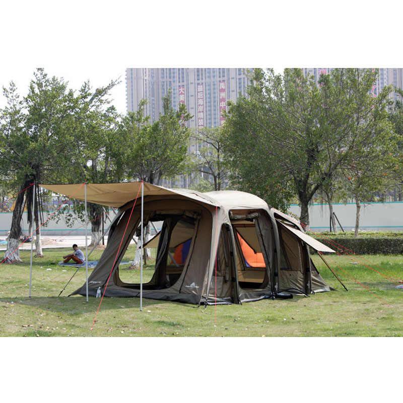 darche tente gonflable de camping en plein air sans supports colonne d air 5 8 10 personnes automatique fuite de goutte a goutte pu 5000