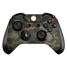2 peças 2 pcs hot! venda popular adesivo da pele para Microsoft Xbox Um controlador sem fio