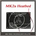 Maior! 2015 RAMPAS RepRap MK2A 300*200*3.0mm 1.4 PCB Heatbed Alumínio + LED Resistor + Cabo + termistores para MK2B Impressora 3D