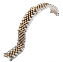 20mm New Gold Silver Stainless Steel Brushed with High Polished Watchband Bracelet Free Shipping