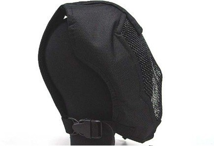 BLACK BEAR Face Mask AIRSOFT STALKER PRAETORIAN RAMPAGE MASK BLACK