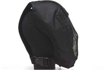 BLACK BEAR Face Mask AIRSOFT STALKER PRAETORIAN RAMPAGE MASK BLACK