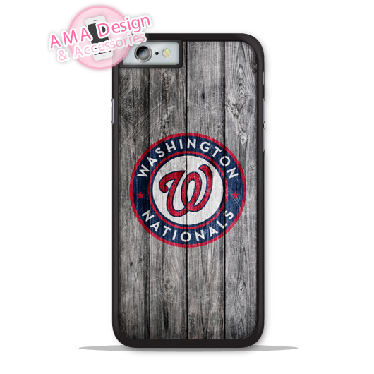 Washington Nationals Baseball Phone Cover Case For Apple iPhone X 8 7 6 6s Plus 5 5s SE 5c 4 4s For iPod Touch