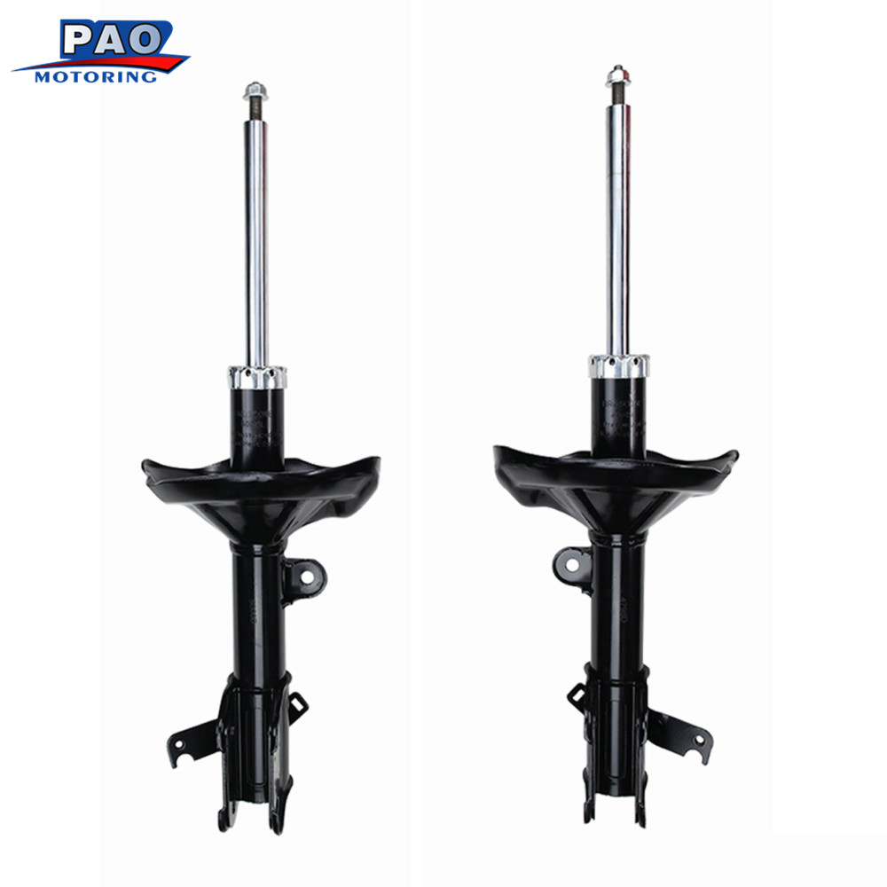 2PC New Front Left and Right Pair Shock Absorbers struts For 2005-2007 Honda Odyssey OEM 72537,72536 Car Suspension Part Auto новый генератор подходит для honda accord odyssey 2 3l f20b 2 0l oem 31100 p5m 0030