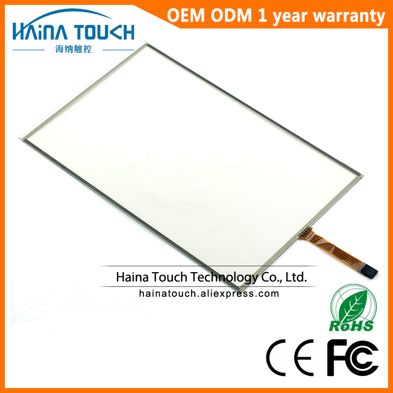16:9 19 Inch 4 Wire Resistive USB Touch Screen Panel, Monitor Touch Screen Kit USB amt 146 115 4 wire resistive touch screen ito 6 4 touch 4 line board touch glass amt9525 wide temperature touch screen