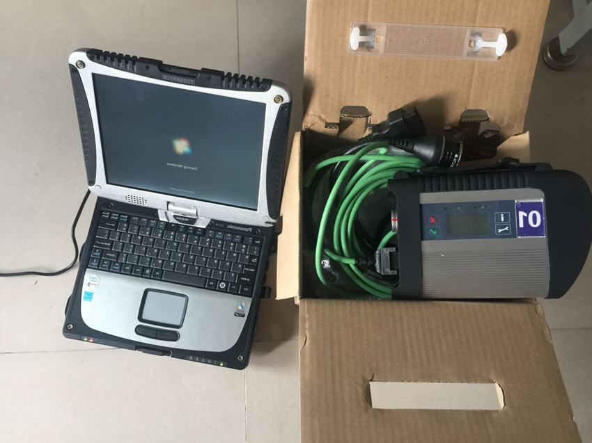 mb c4 star diagnosis multiplexer diagnose scan tool 2019.07 latest software hdd 320gb laptop cf19 touch screen ready to work
