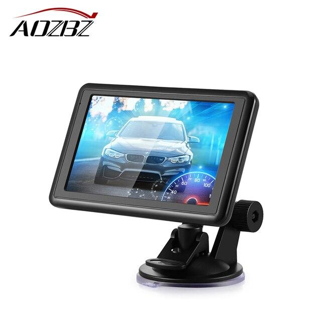 Car SAT GPS Navigation NAV 4GB ROM 128 MB RAM Free EU Russia Map Automotive Car Charger 5 Inch Touch Screen