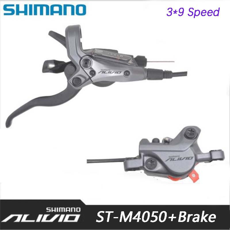 SHIMANO ALIVIO ST M4050 Integral hydraulic disc brakes 27s MTB Bicycle connection DIP Bicycle hydraulic brake