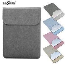 Soft Matte PU Leather Laptop Bag Case 11 13 inch For Macbook Mac Air Pro 13 11 Retina Sleeve Notebook Case Briefcase Pouch Skin