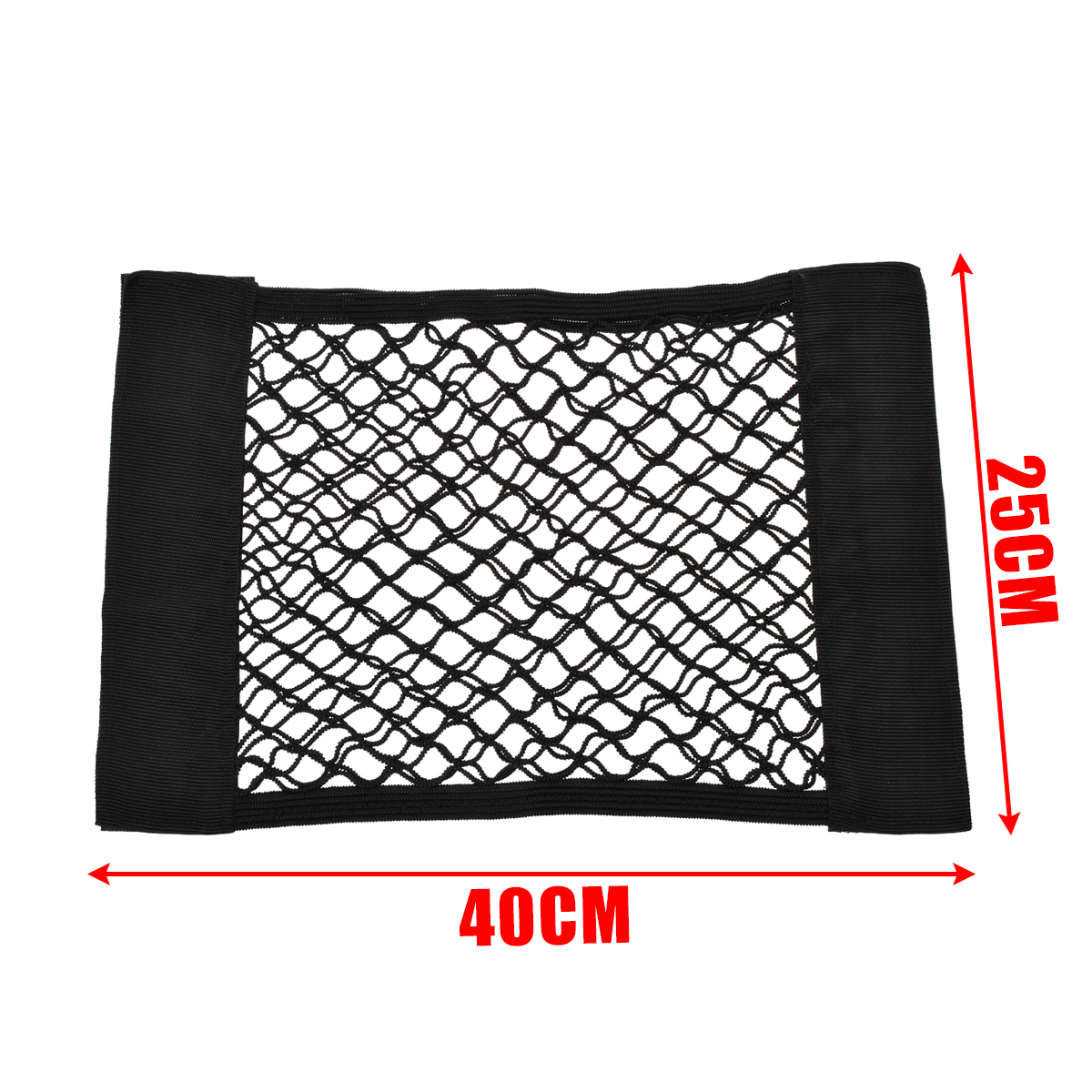 Car Interior Nets 1pc 40*25CM Car Trunk Seat Back Elastic Mesh Net Car Styling Storage Bag Pocket Cage