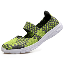 LEMAI 9 Color Women Weave Sports Running Shoes Summer Female Sneakers Shoes For Women Trainers Walking Shoes