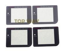 Chengchengdianwan 20 pçs/lote cinza material de vidro preto para o jogo menino gb sistema original lente da tela nova lente de tela protetora
