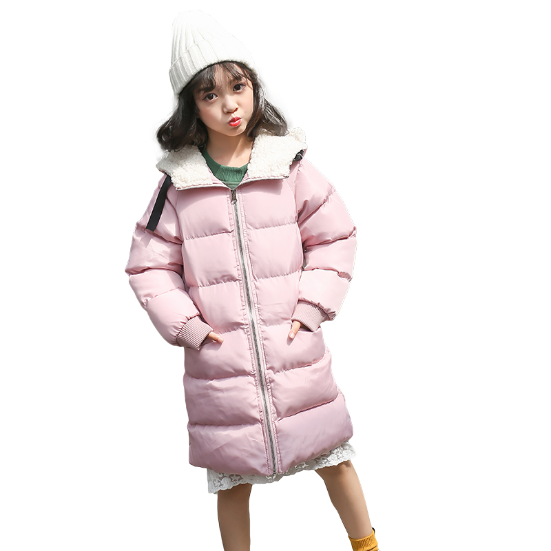 2017 Brand Children Winter Warm Outerwear Kid Christmas Hooded School Cute Winter Warm Snow Cotton-padded Jacket Kid Clothes children winter coats jacket baby boys warm outerwear thickening outdoors kids snow proof coat parkas cotton padded clothes
