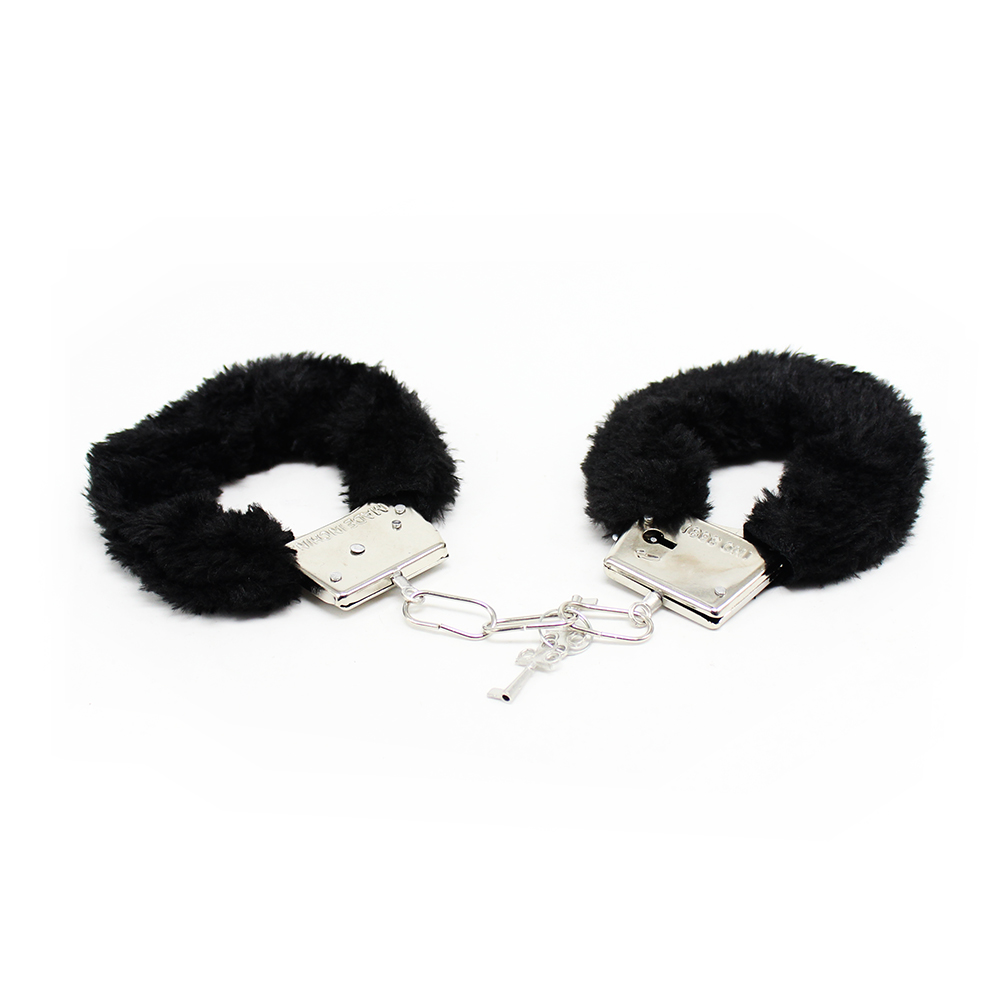 Plush handcuffs <font><b>Adult</b></font> <font><b>sex</b></font> <font><b>toys</b></font> <font><b>for</b></font> <font><b>couples</b></font> women men Bound Passion Props flirt <font><b>sex</b></font> product image