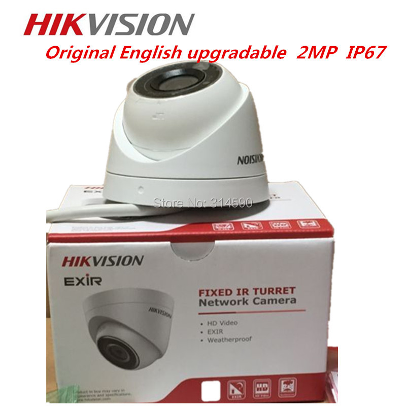 DHL FreeShipping Hikvision IP Camera DS 2CD1321 I Network Camera CCTV Camera 2MP POE Replace DS