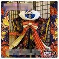 Lovelive! Umi Sonoda kimono lunar Enero despertar cosplay por encargo