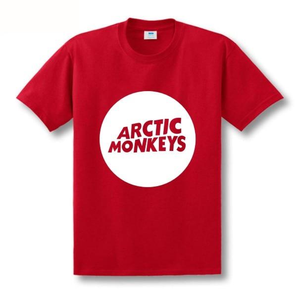 Zweite Tötung Arktische Affen Druckt-shirt Männer Kurzhülse 100% - Herrenbekleidung - Foto 5