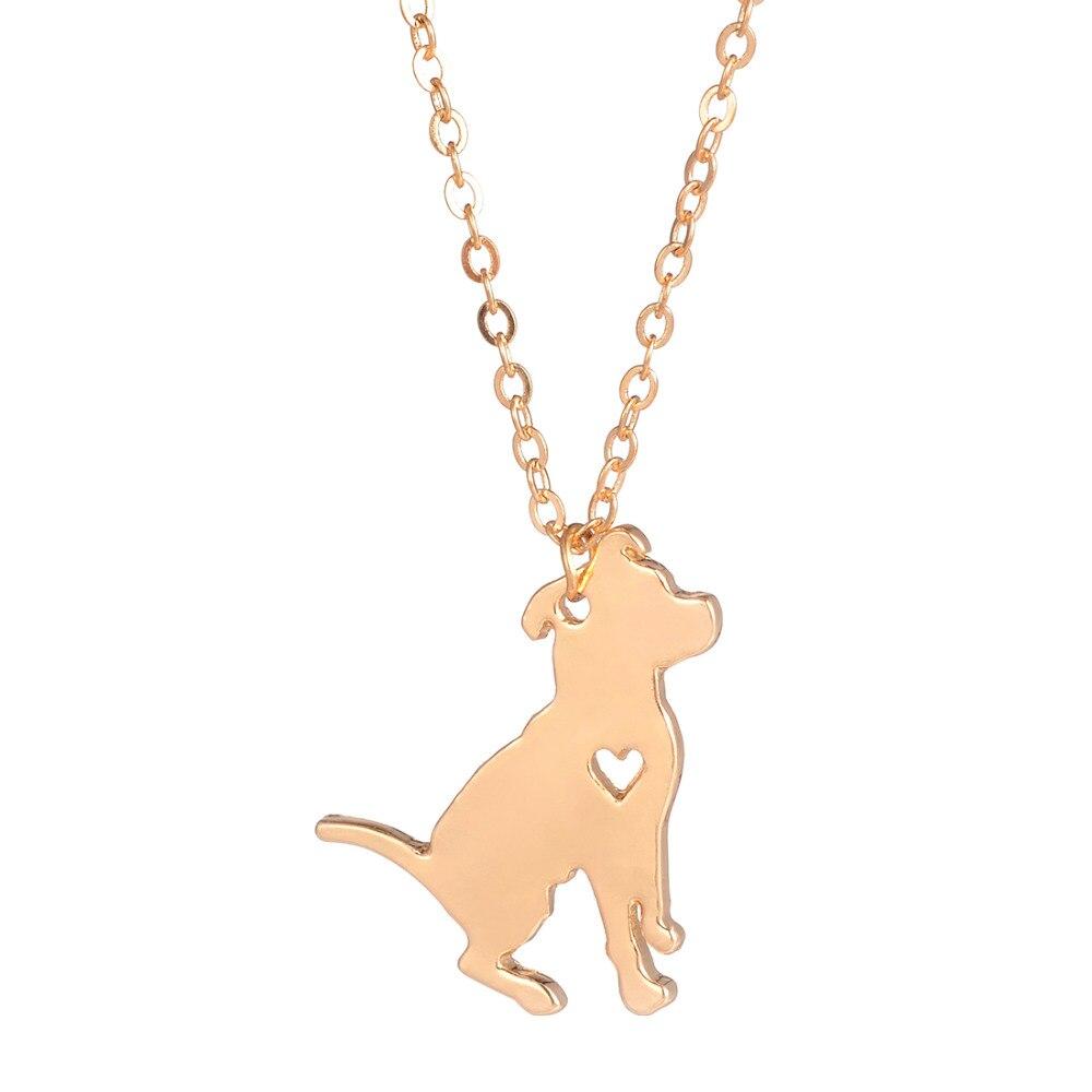 Fashion Jewelry Pit Bull Kaelakee Pitbull kohandatud koer kaelakeed - Mood ehteid - Foto 3