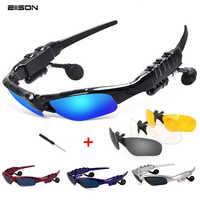 Bluetooth Sunglasses Sun Glasses Polarized Wireless Headphone With Microphone Outdoor Glasses Casque for sony xiomi xaomi vivo