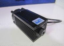 Popular DIY CNC 2800 mw/2.8 w 445nm 450nm Láser azul Enfocable Módulo de tubo De Alta Potencia de Grabado láser Ajustar envío gafas