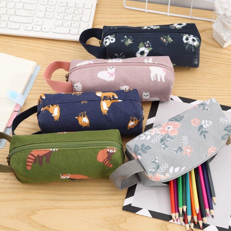 ETya  Fashion Travel Small Cosmetic Bag Pouch Women Handbag Make Up Toiletry Bag Case Kits Student Pencil Bag