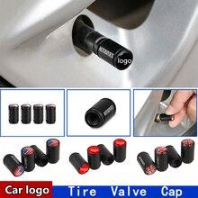 10 компл. чёрный для автомобильного стайлинга автомобильные аксессуары колпачки клапанов шин Автомобильная эмблема логотип декоративная крышка клапана шины