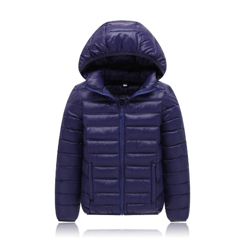 2017 New Fashion Winter Girls Down & Parkas Solid Cotton Hooded Zipper Kids Boys Jacket Children Clothing Outwear Coats 3dp004 2017 new winter sytle children clothing fashion cartoon print girls down & parkas 1 6y hooded children jackets coats for girls