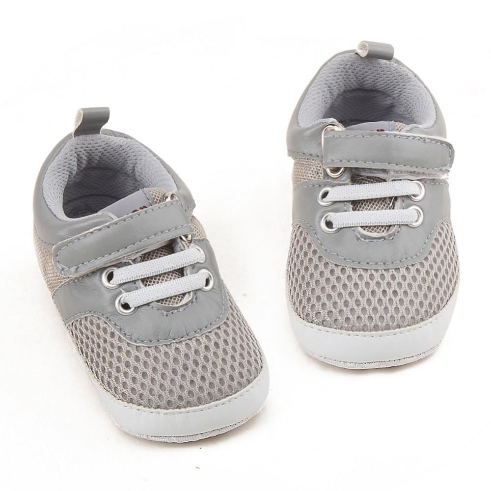 New First Walkers Baby Shoes Sneaker Toddler Casual Footwear Sport Breathable Mesh Shoes for 0-18 Months Baby Newborn Boys