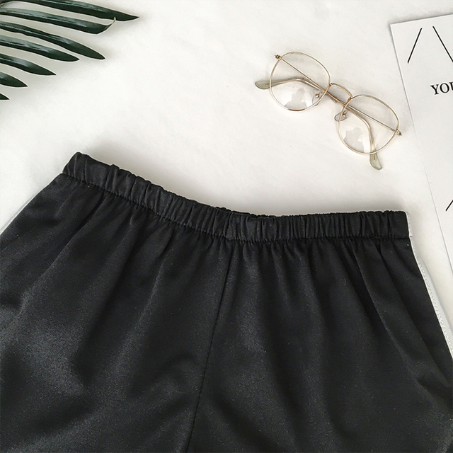 Casual Fitness Workout Summer Female Elastic Skinny Shorts