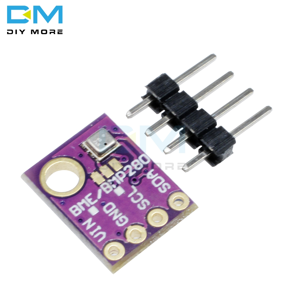 <font><b>BME280</b></font> Digital Sensor Temperature Humidity Barometric Pressure Sensor Breakout Module Board GY-<font><b>BME280</b></font> I2C IIC <font><b>SPI</b></font> Interface 5V image