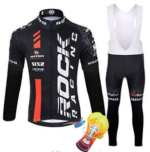 4cca56340 2018 rock Cycling Jersey Sets Long Sleeve Mountain Bike Clothes Wear  Maillot Ropa