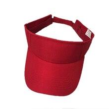 2019 Summer sun hat Visor cap Men Women Outdoor Sport Sun Visor Cap Hat for Golf Hiking Tennis running Anti-UV cap adjustable цена в Москве и Питере