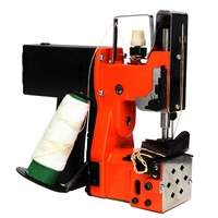 A 8% 220V Portable Electric Sewing Machine Sealing Machines Industrial Cloth Industrial Bag Closer Stitching Sewing Machine