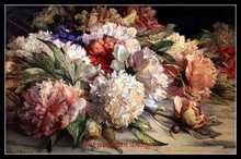 Needlework Craft Home decor French DMC Quality Counted Cross Stitch Kit/Set DIY Oil painting 14 ct Peonies 2