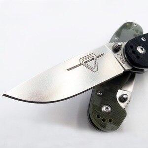 Image 2 - JSSQ sıçan modeli 2 katlanır bıçak AUS 8 bıçak taktik çakı açık kamp EDC araçları Survival avcılık kurtarma bıçakları OEM