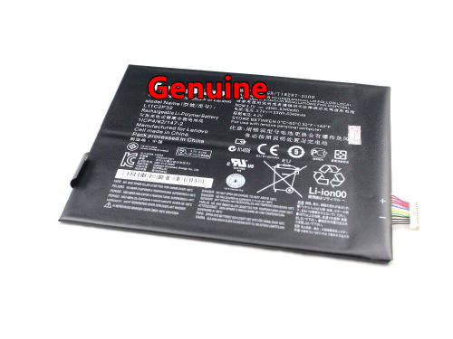 Genuine Original Battery For Lenovo IdeaTab B6000-F S6000 S600H S6000-F S6000-H A1000 A3000 A3000-H L11C2P32 Li-Polymer аксессуар чехол lenovo ideatab s6000 g case executive white