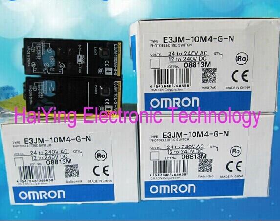 ФОТО New and original  OMRON  E3JM-10M4-G-N      Photoelectric switch  Photoelectric sensor