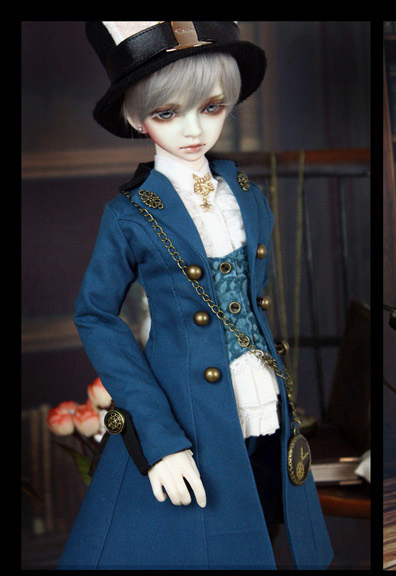 Buffalo's Rabbit Young Master Outfit Suit (6pcs) for BJD Doll 1/4 MSD LUTS IP JID Doll Clothes LF45 casual leather jacket coat for bjd doll 1 6 1 4 msd 1 3 uncle ip soom doll clothes cw52