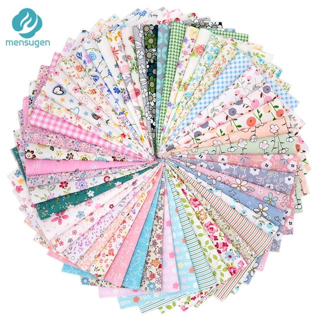 50 cái 20 cm * 25 cm 100% Cotton Chắp Vá Vải Cho Quilting May Không Có Thiết Kế Lặp Lại Tilda Búp Bê Scrapbooking vải