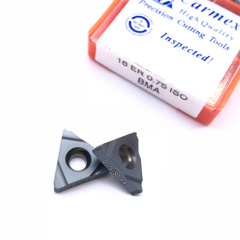 Image 3 - 10pcs 16ER 1.5 ISO BMA 0.75 1.25 2.0 3.0ISO Carbide Inserts Thread Cutting External Turning Tool CNC Cutter Blade SER TurretTurning Tool   -